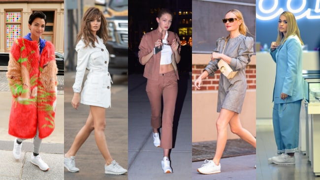 Best street style sneaker celebrities love: Reebok classic leather sneaker