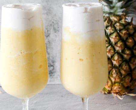 A healthy gut-loving Piña Colada recipe